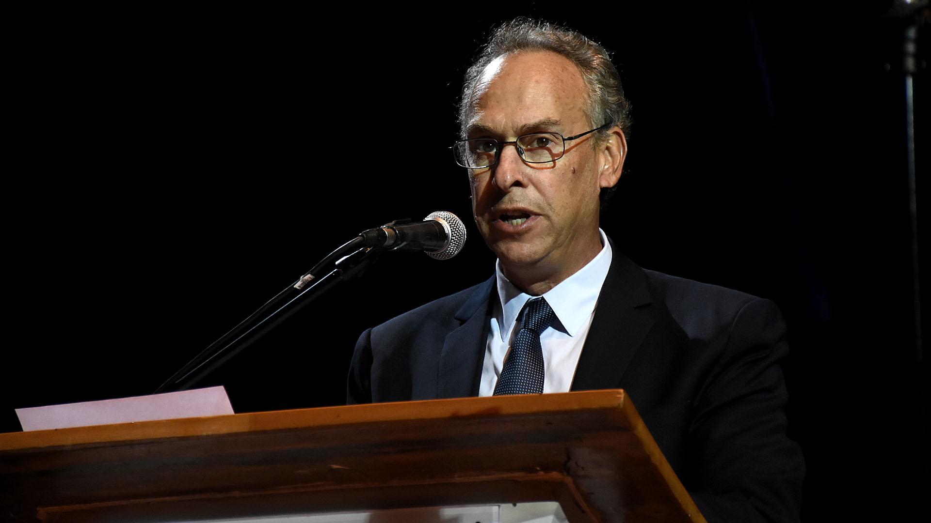 El director del Museo del Holocausto Marcelo Mindlin