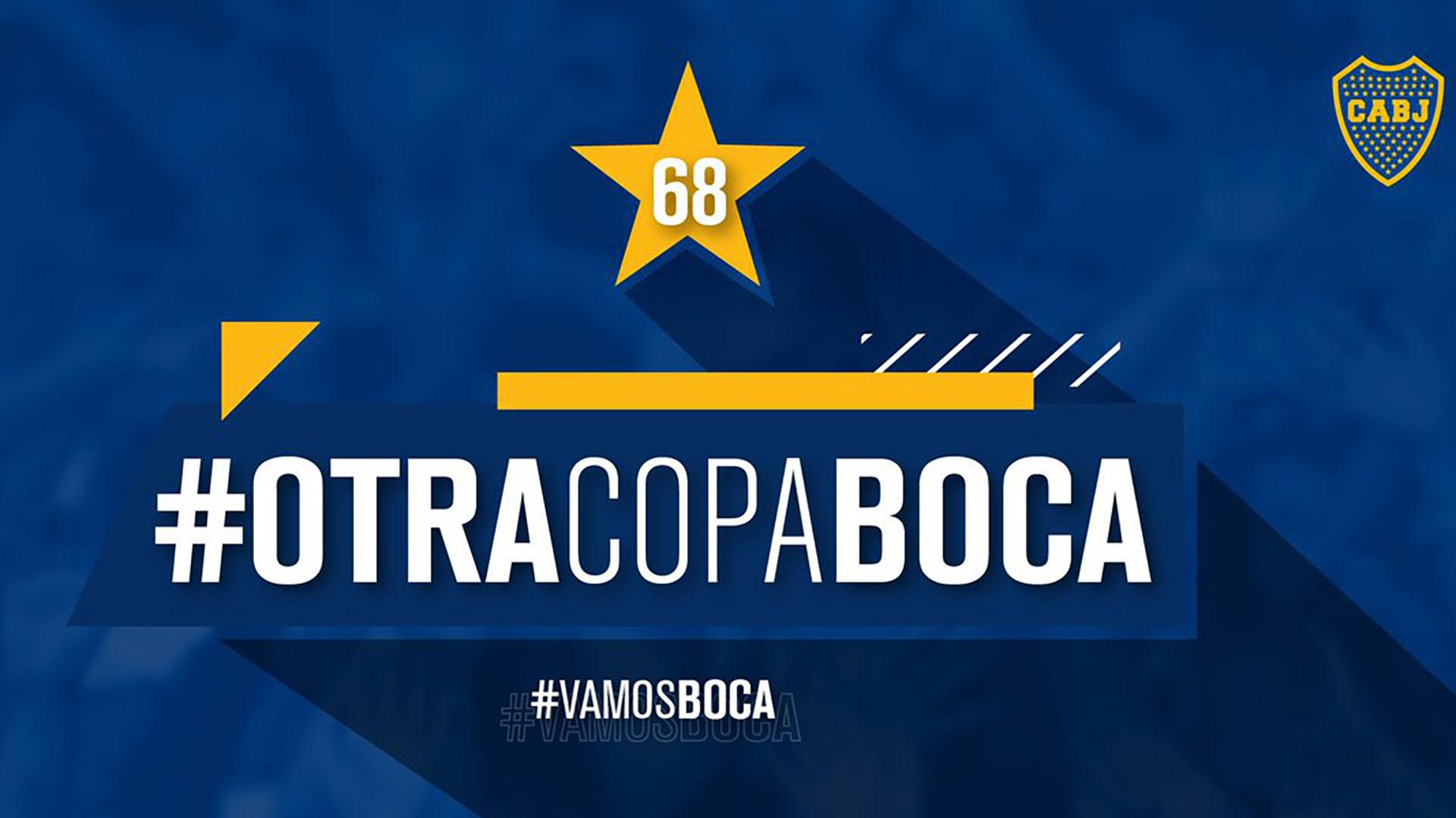 Boca bordó su estrella número 68