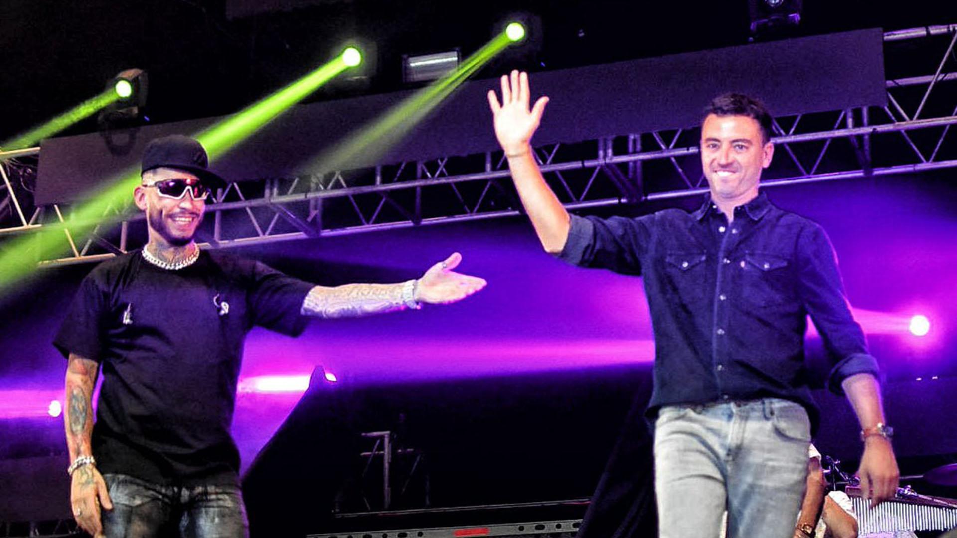 El 1° de mayo Rodrigo de Loredo fue al show de regreso de Ulises Bueno (@rodrigodeloredo)