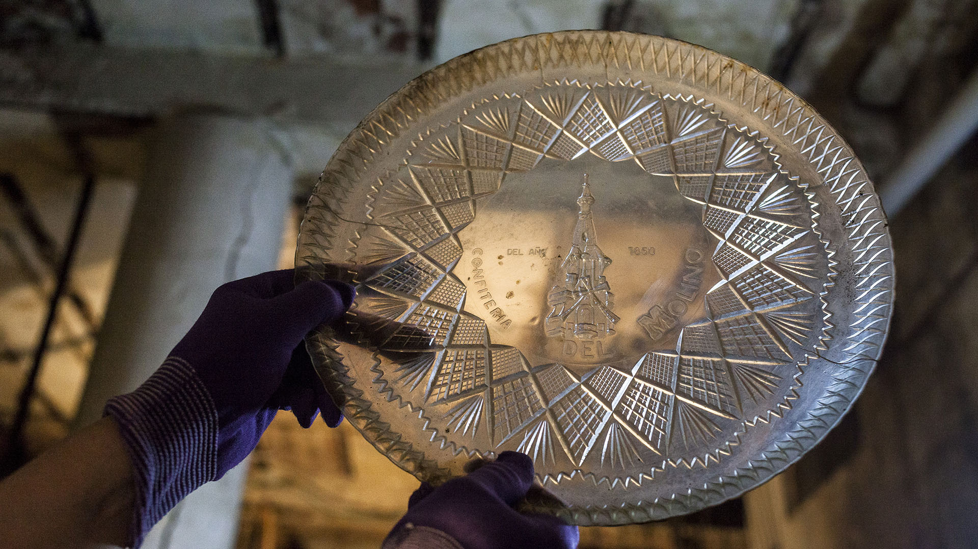 Durante las actividades por el Día Nacional de los Monumentos el público podrá ver objetos recuperados de la confitería