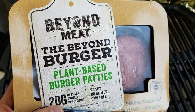 Beyond Meat en venta en EEUU (Foto: Opy Morales)