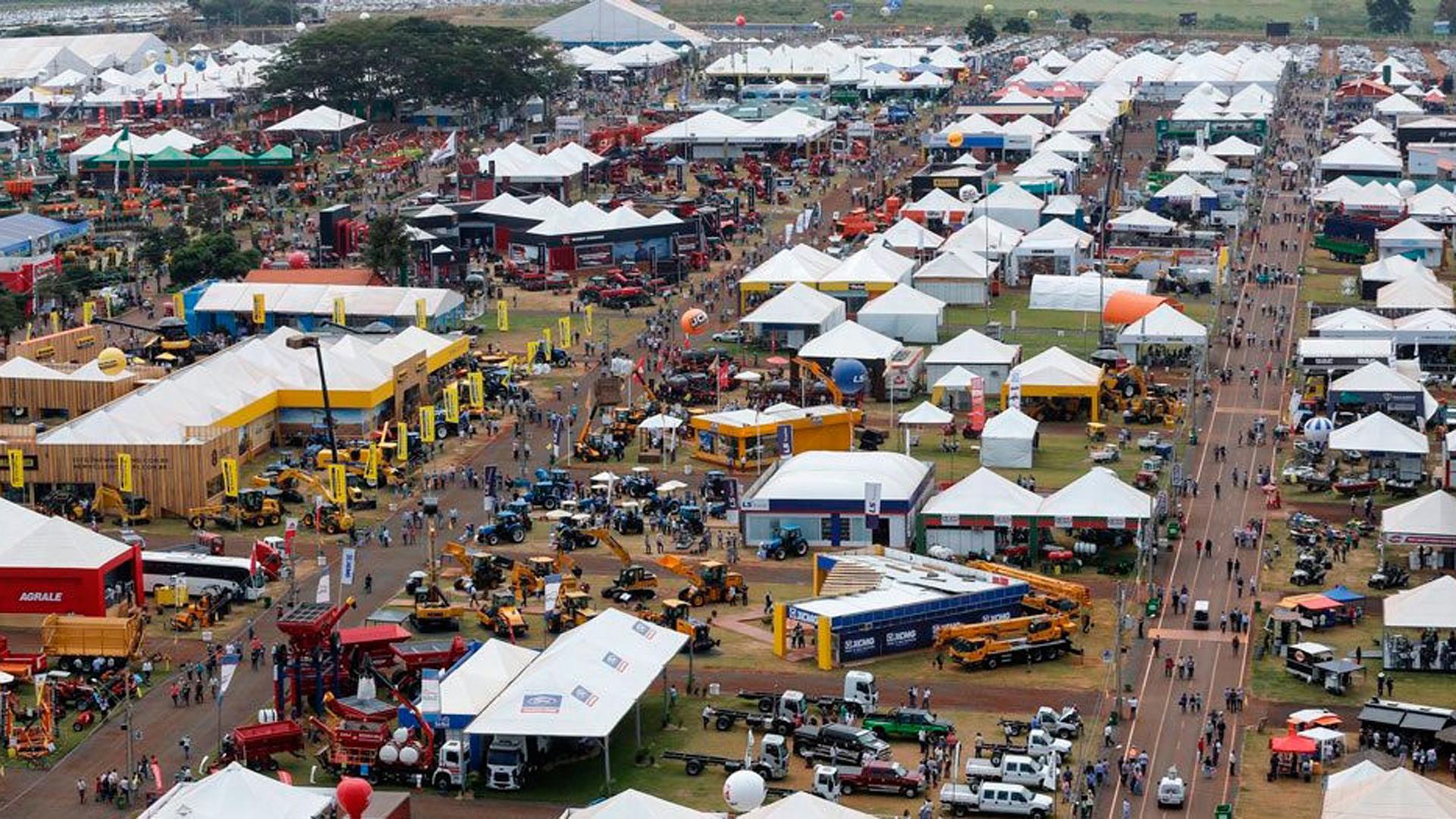 Agrishow es la feria agropecuaria más grande de Brasil