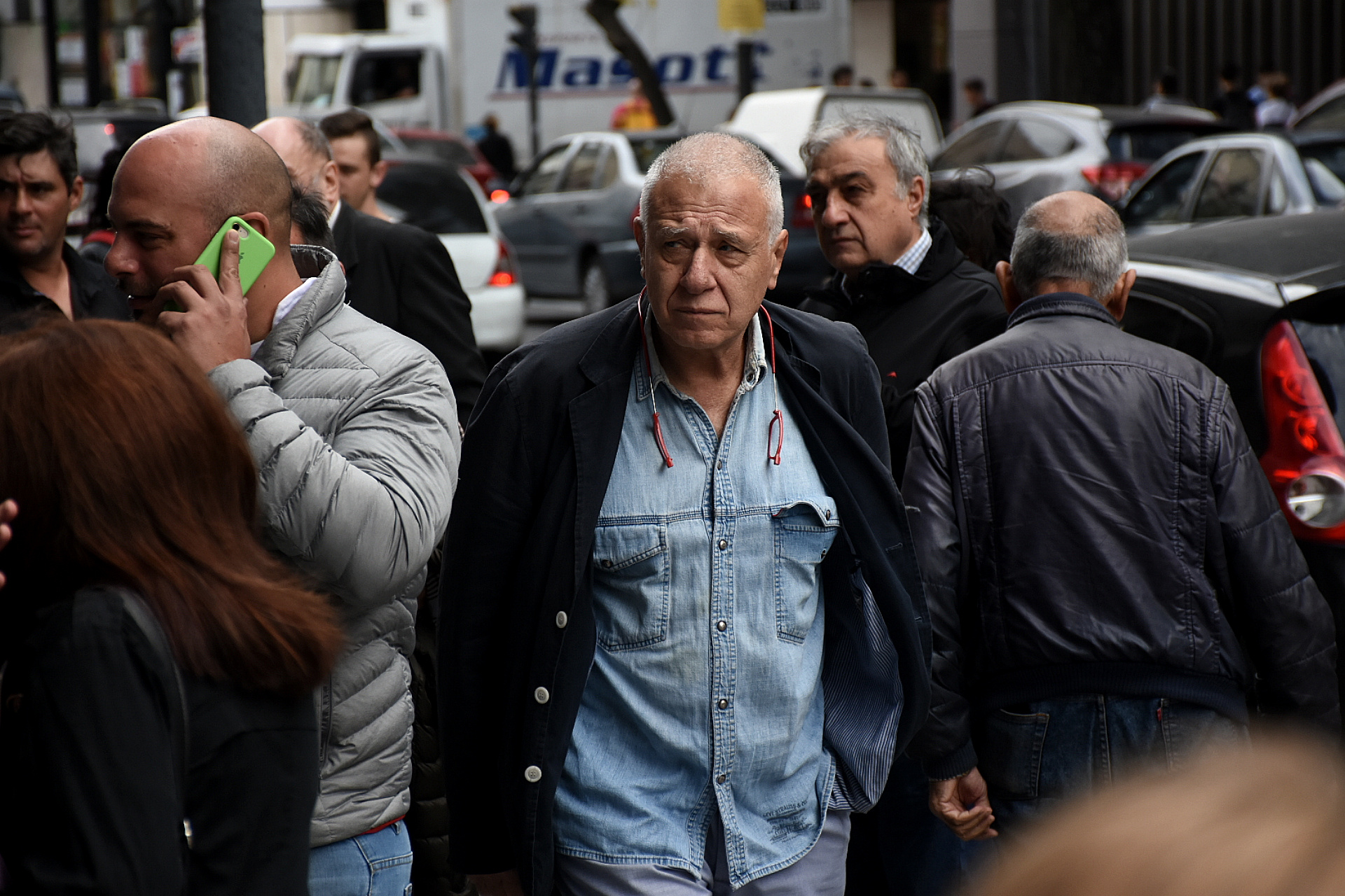 El periodista Carlos Campolongo