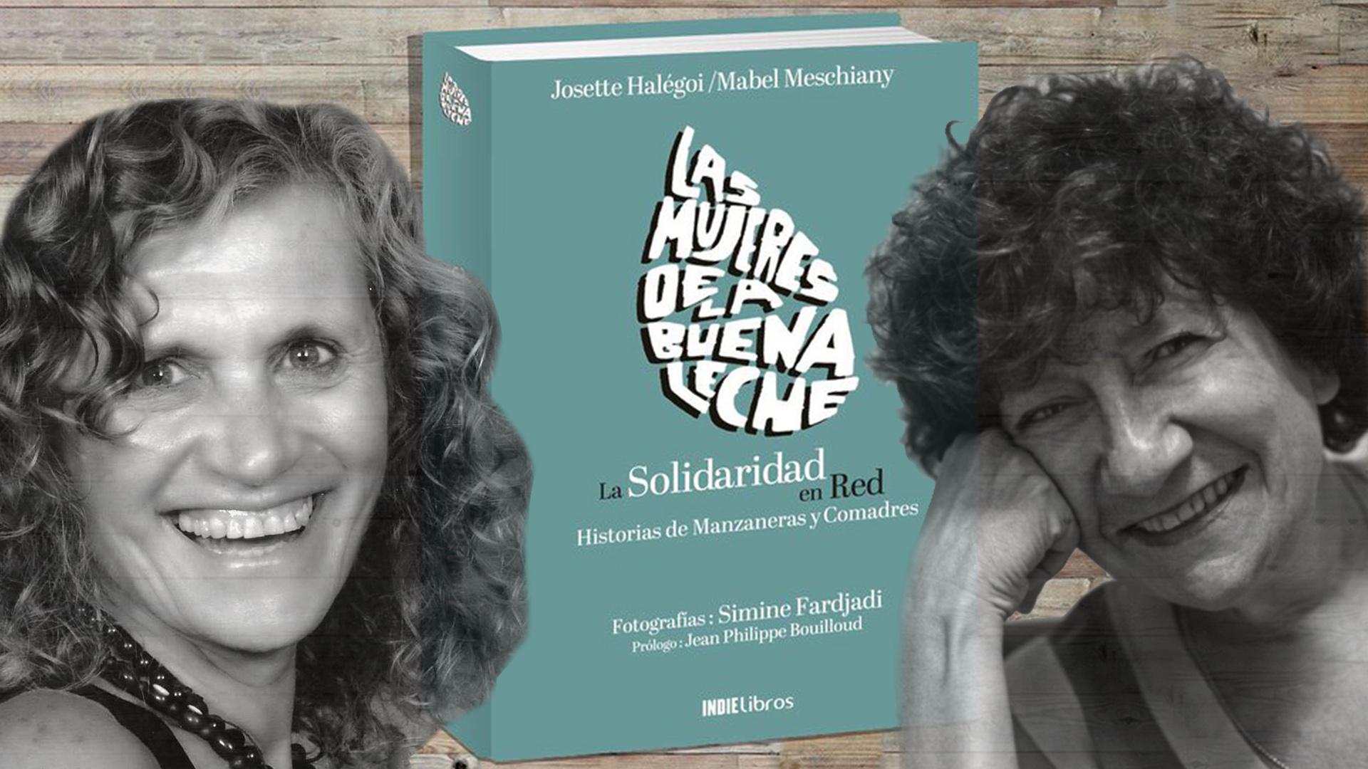 Mabel Meschiany y Josette Halégoi, las autoras del libro