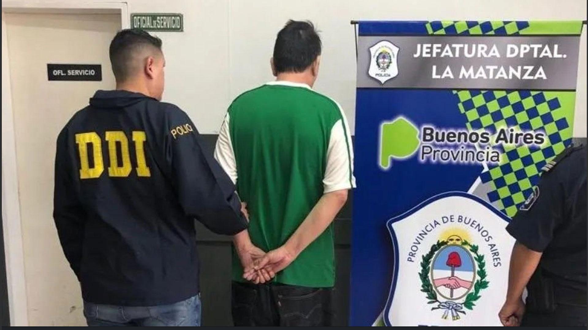 El detenido Carlos Miguel Navarro Ponce