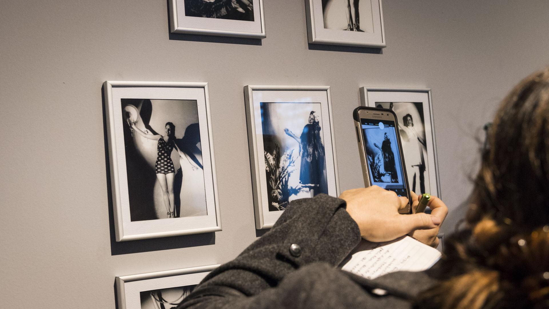 Fotografías de Evita, realizadas por el artista húngaro Sivul Wilensky