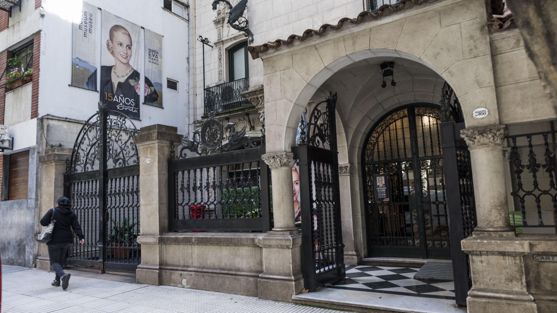 """El Museo Evita fue inaugurado el 26 de julio de 2002. Posteriormente, en el 2007 fue declarado """"Monumento Histórico Nacional"""""""