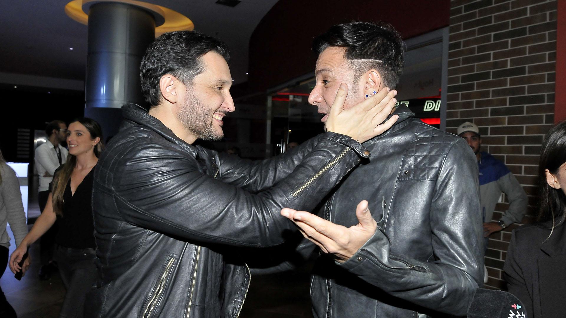 Germán Paoloski y Martín Bossi