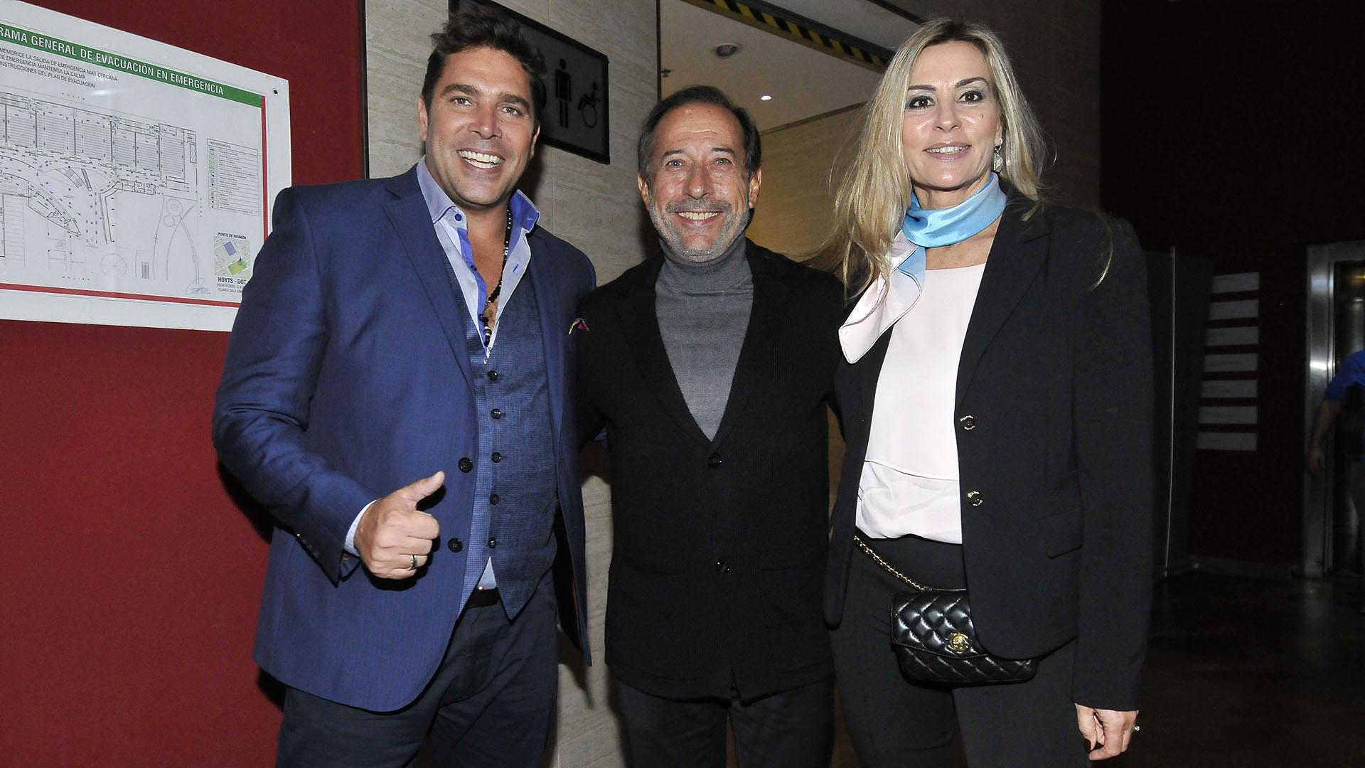 Matías Alé, Guillermo Francella y Marynés Breña