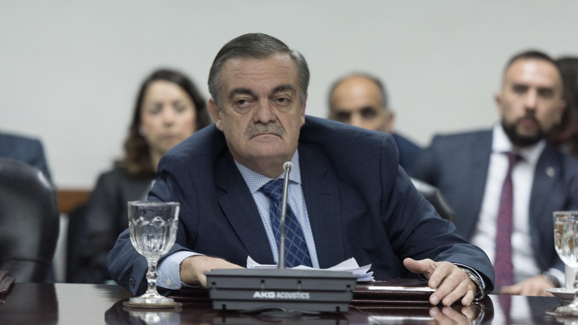 El juez Lugones puso reparos en que las DDJJ de los magistradosestén on line (A.Escandar)