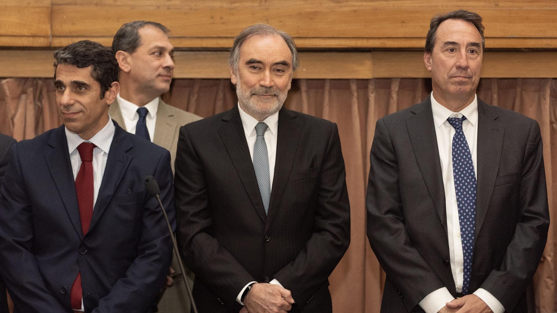 Daniel Petrone, Leopoldo Bruglia, Mariano Llorens