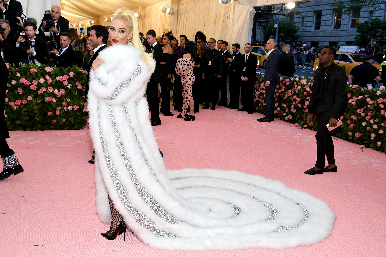 Gwen Stefani por Moschino.