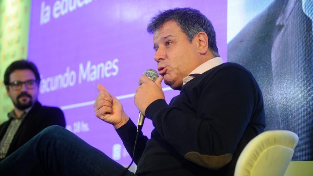 Manes explicó la importancia de el estudio permanente para tener un cerebro sano y un país próspero (Dino Calvo)