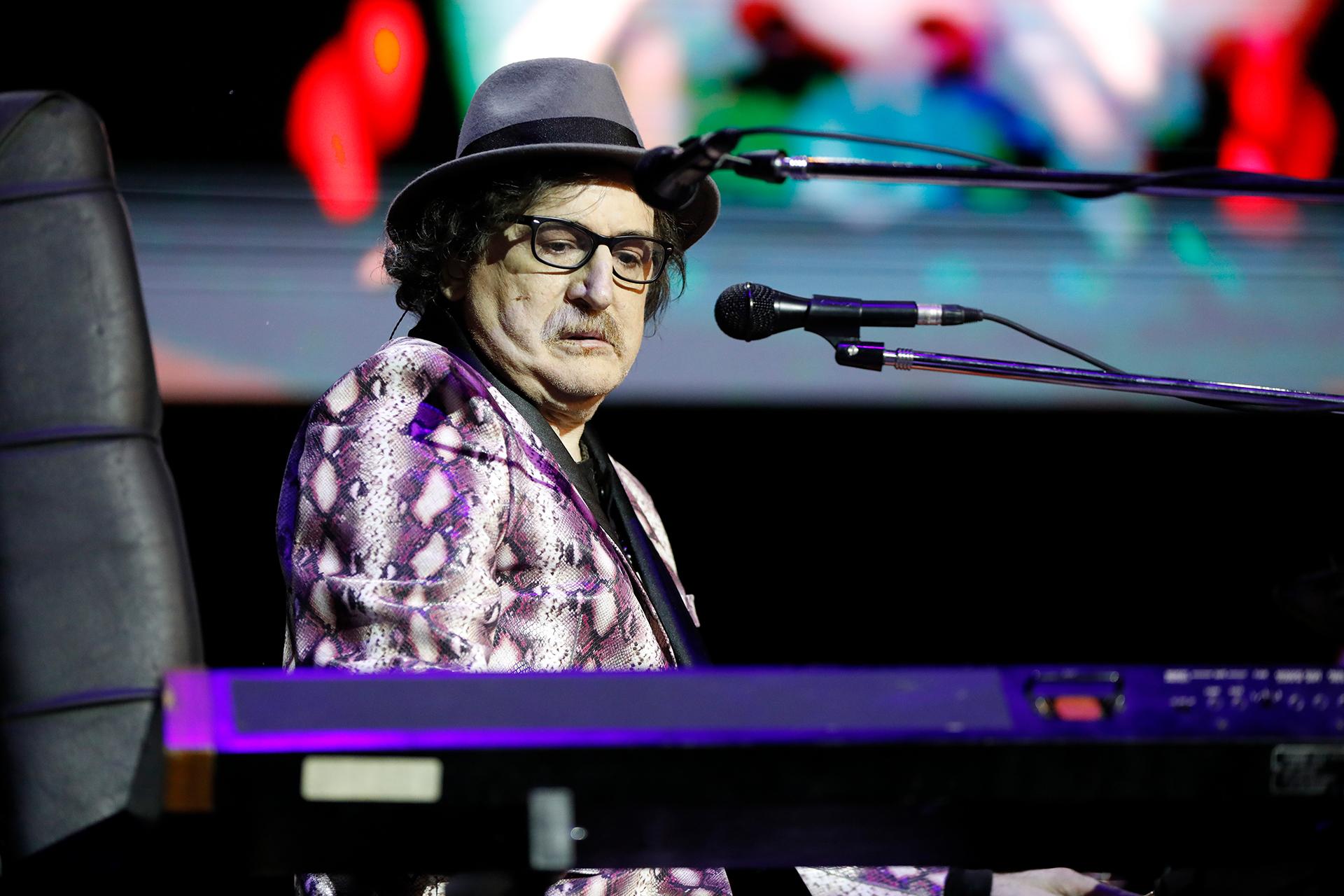 Charly García mostró una vez más toda su profesionalidad sobre el escenario