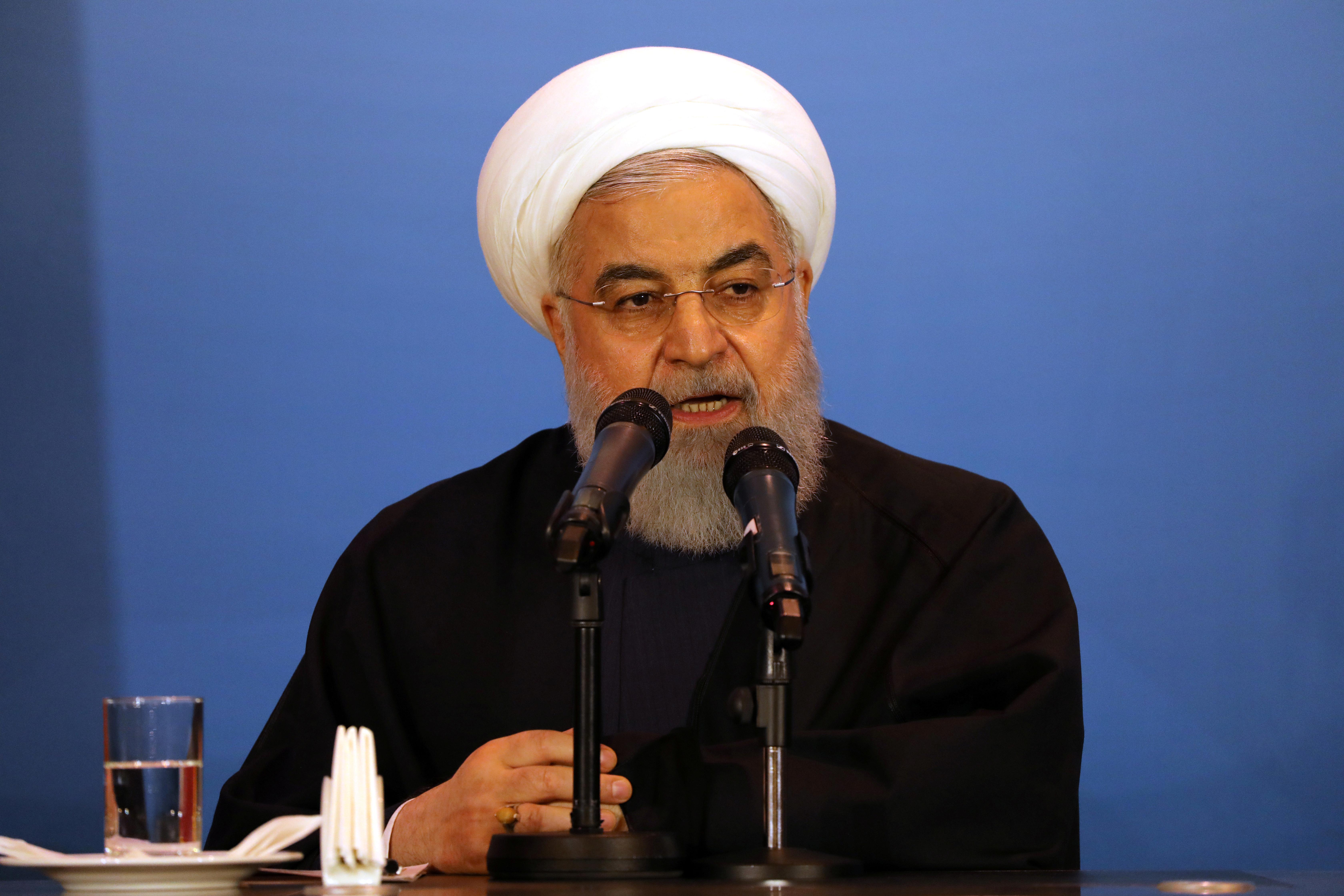 El presidente iraní Hassan Rohani (REUTERS/Abdullah Dhiaa Al-Deen/archivo)
