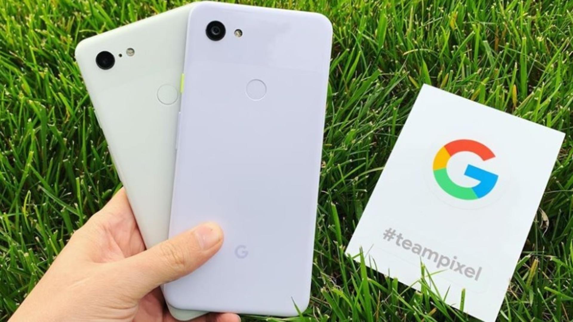 Pixeles es la nuevageneración de telefonía móvil de Google (Foto: Instagram)