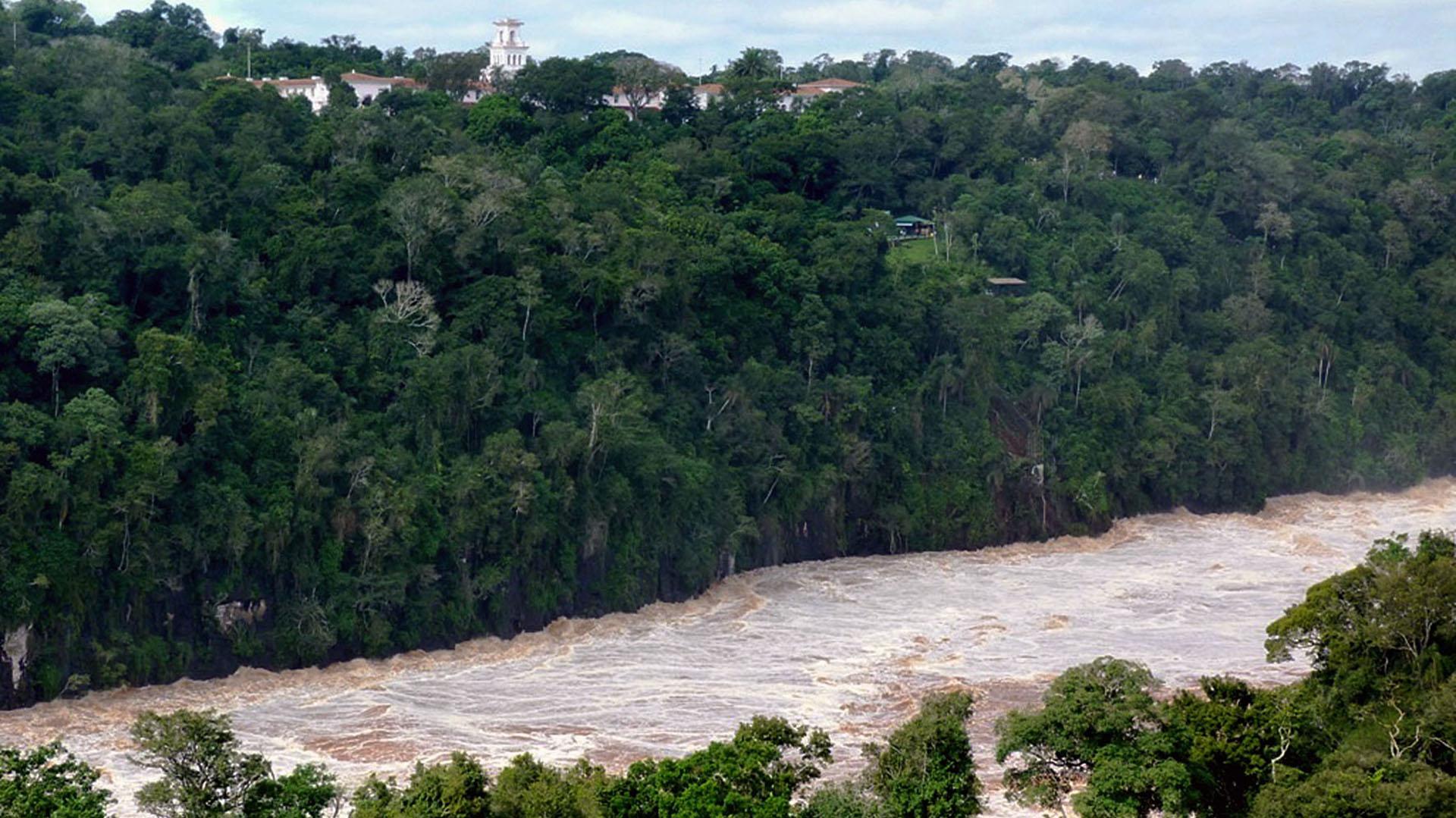 Valles, ríos, frondosa vegetación subtropical y hasta sierras que llegan a los 800 metros de altura, dan forma a un bosque lluvioso y húmedo que ocupa más de un 35% del territorio misionero (NA)