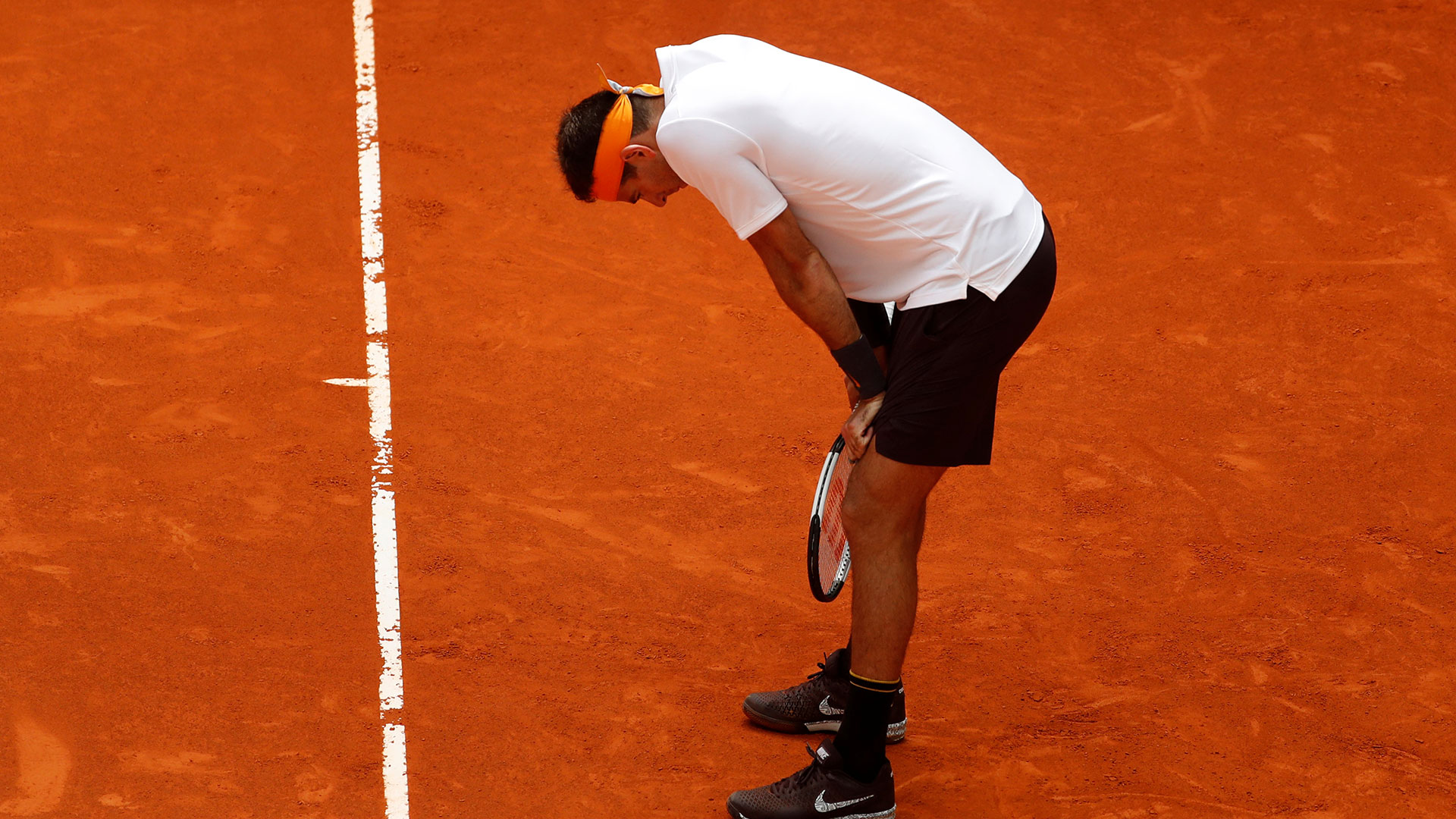 Del Potro hará su presentación en Roma (Foto: Reuters)