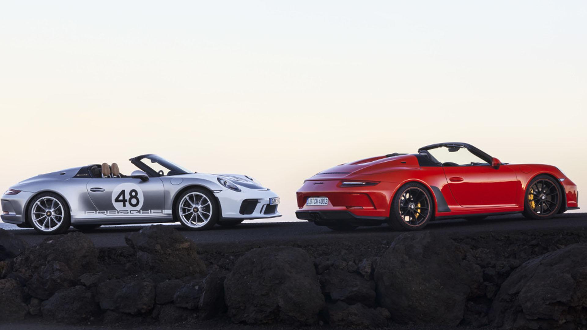 El 911 Speedster es un descapotable desarrollado por Porsche Motorsport