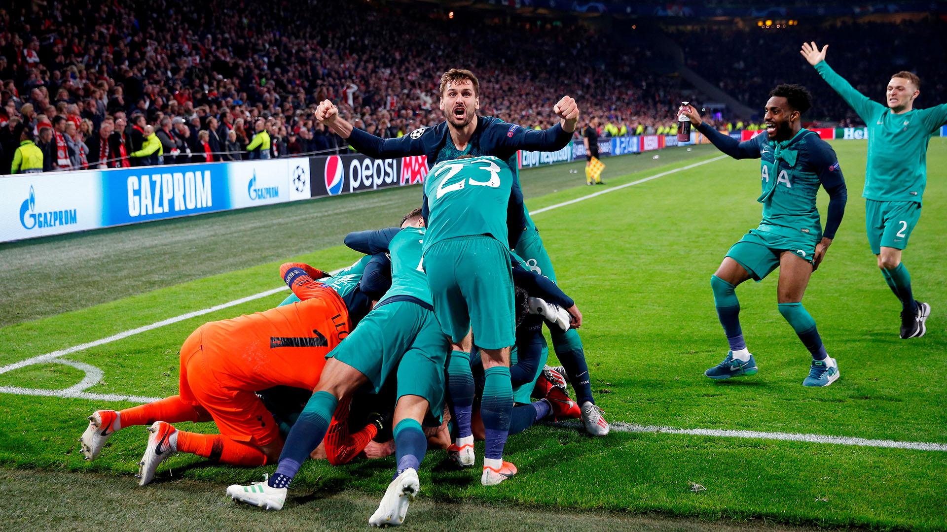 El Tottenham Hotspur está por primera vez en la final de la Liga de Campeones. Jugará en contra de un rival de la Liga Premier, el Liverpool. (Action Images via Reuters/Matthew Childs)