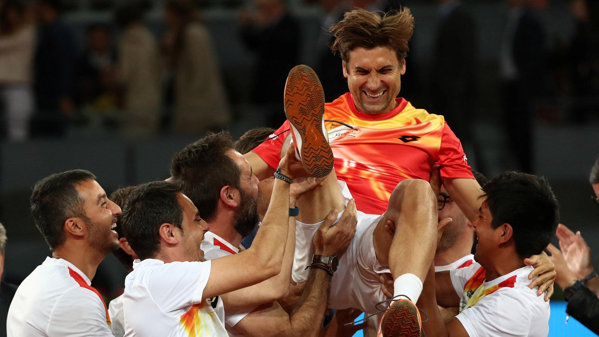 David Ferrer se retiró del tenis a los 37 años (Reuters)