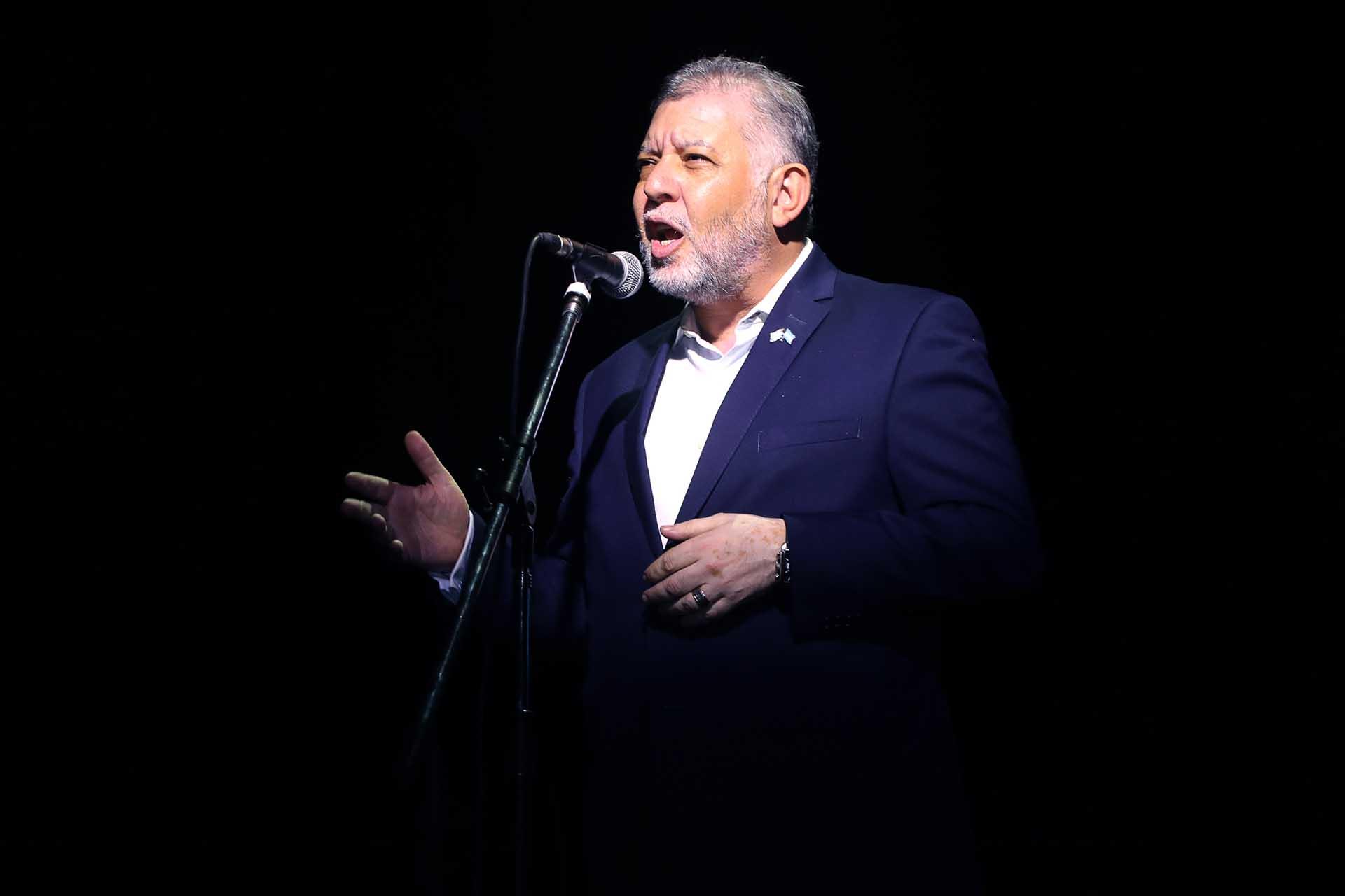 El presidente de la Agrupación Sionista Argentina, Sergio Pikholtz