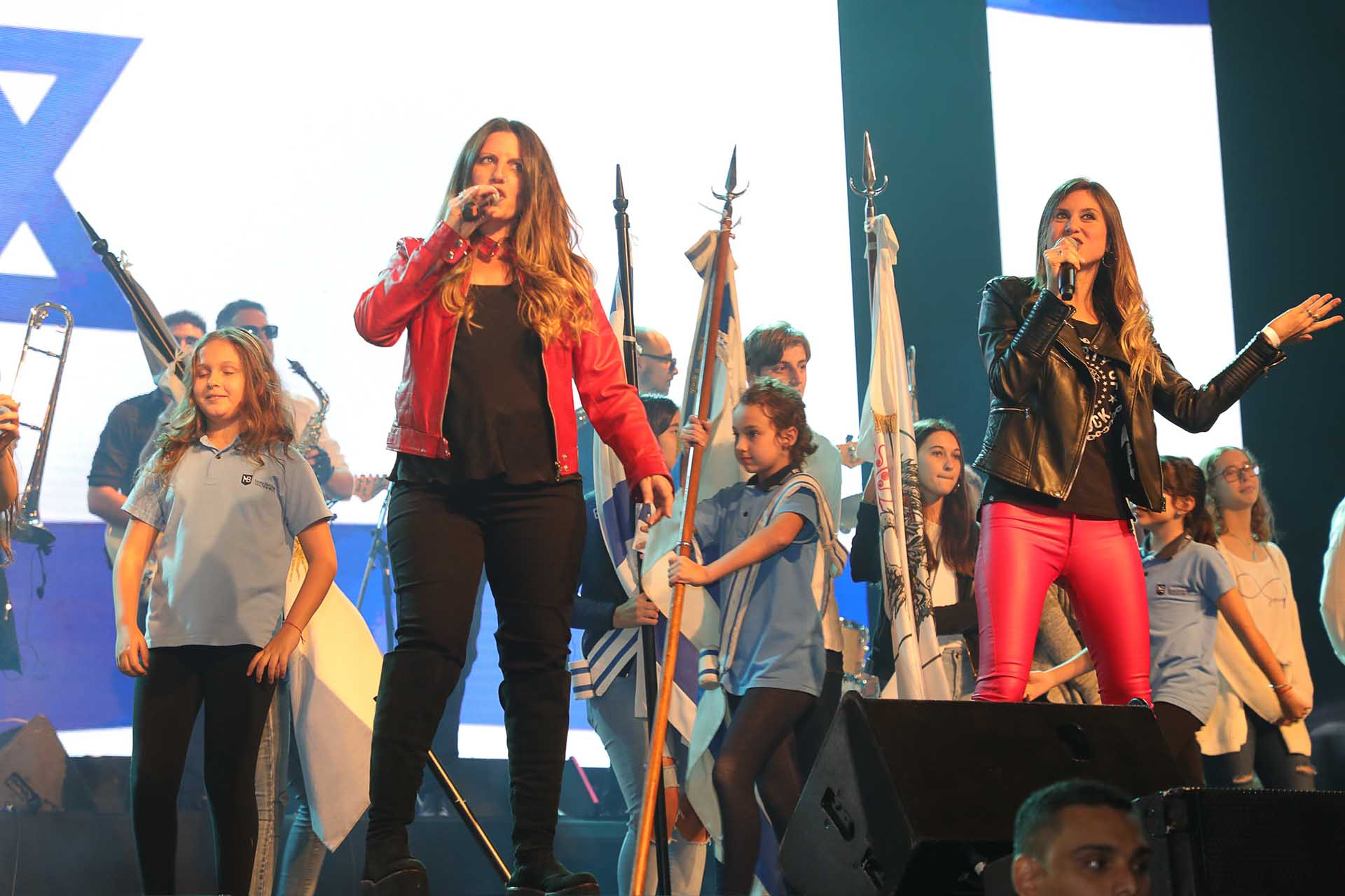 En Argentina contó con una gran producción, que se encargó de brindar un espectáculo que retomó el concepto clásico de esta clase de eventos, para que el festejo perdure en el tiempo como la misma cultura judía