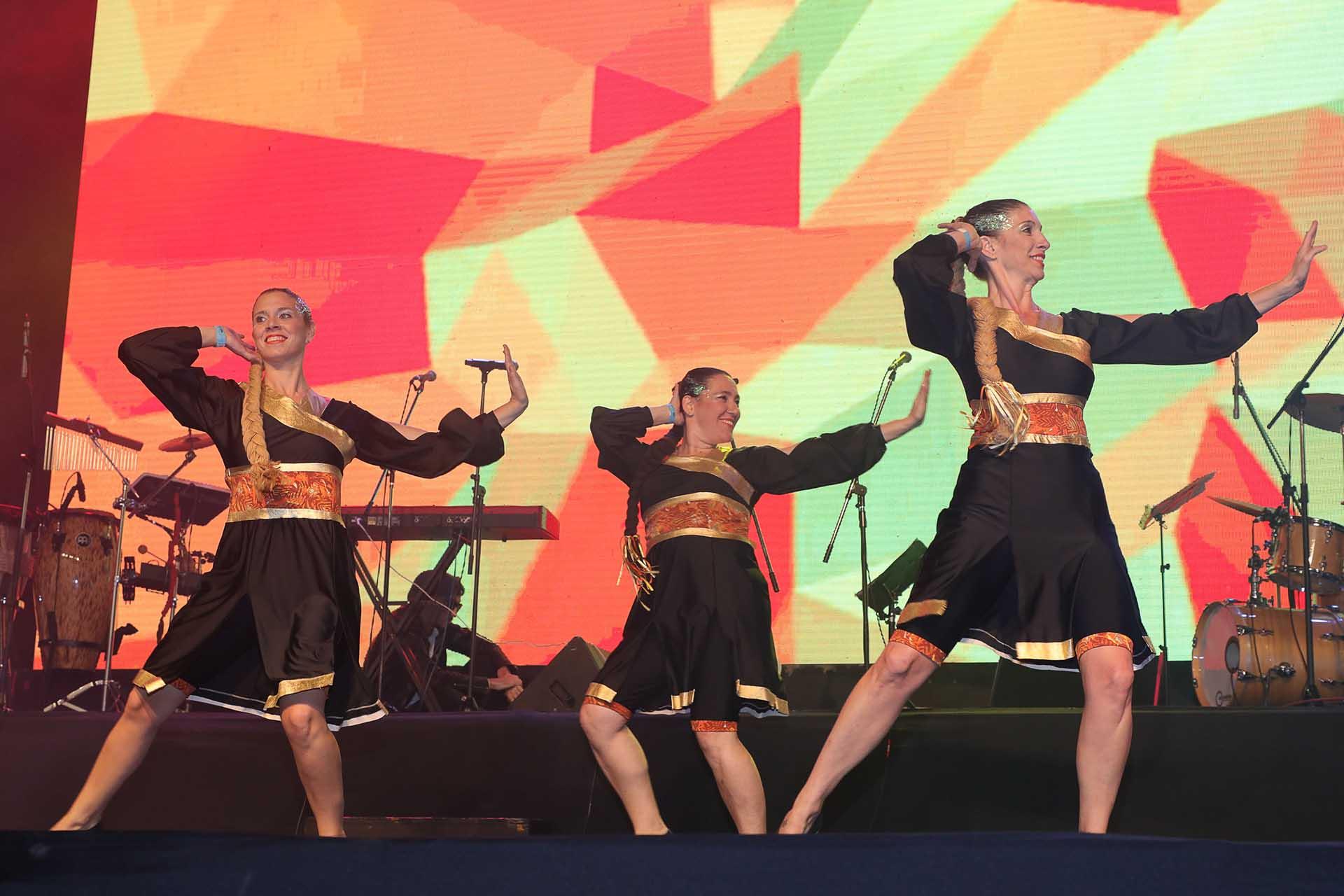 La celebración en Buenos Aires, junto a la de Nueva York, fueron las dos más importantes a nivel mundial fuera de Israel