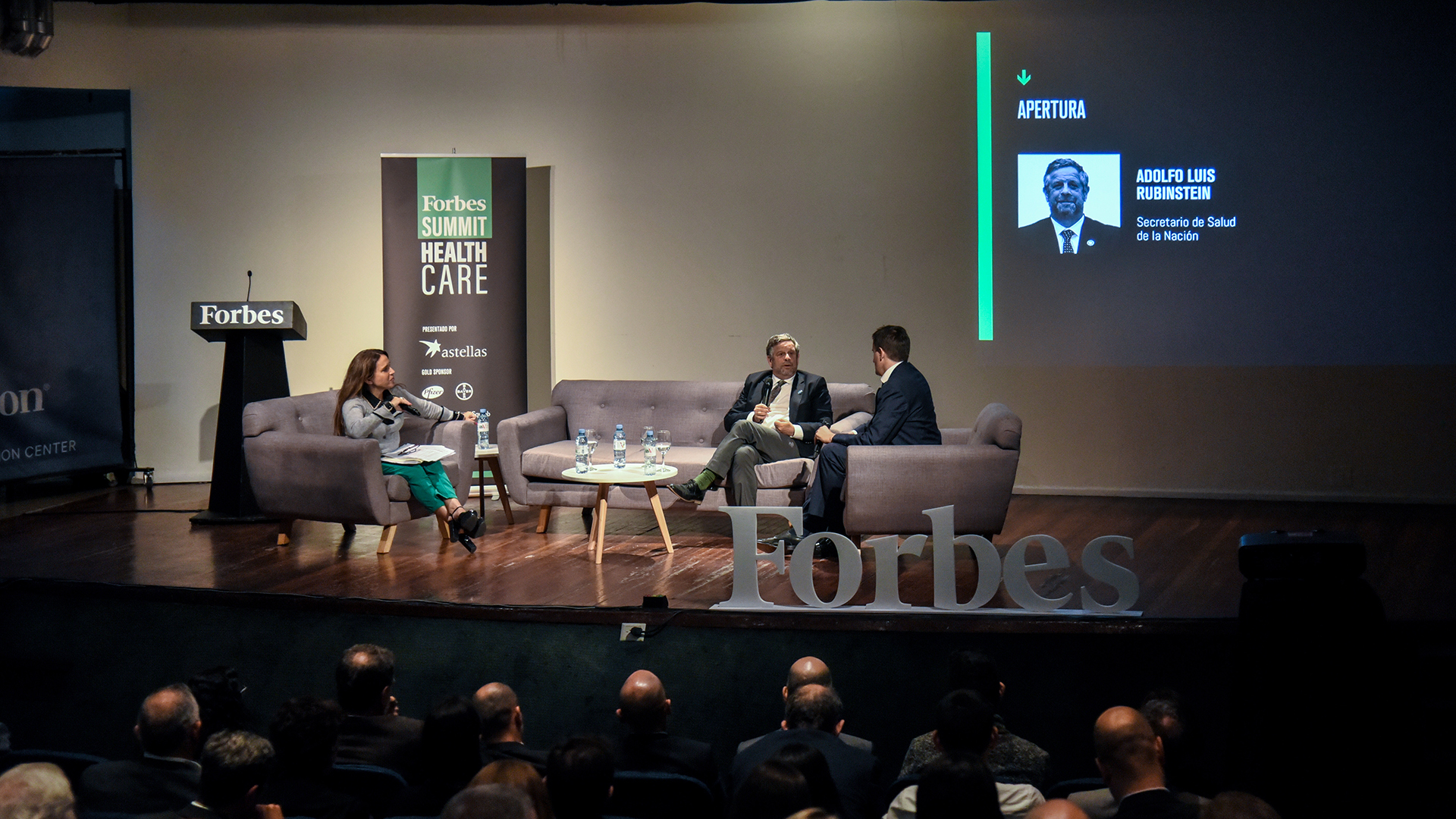 El secretario de Salud de la Nación inauguró la segunda edición de Forbes Health Summit en Argentina con el objetivo de debatir el escenario actual y las perspectivas de la salud en el país. (Juan Ulrich)