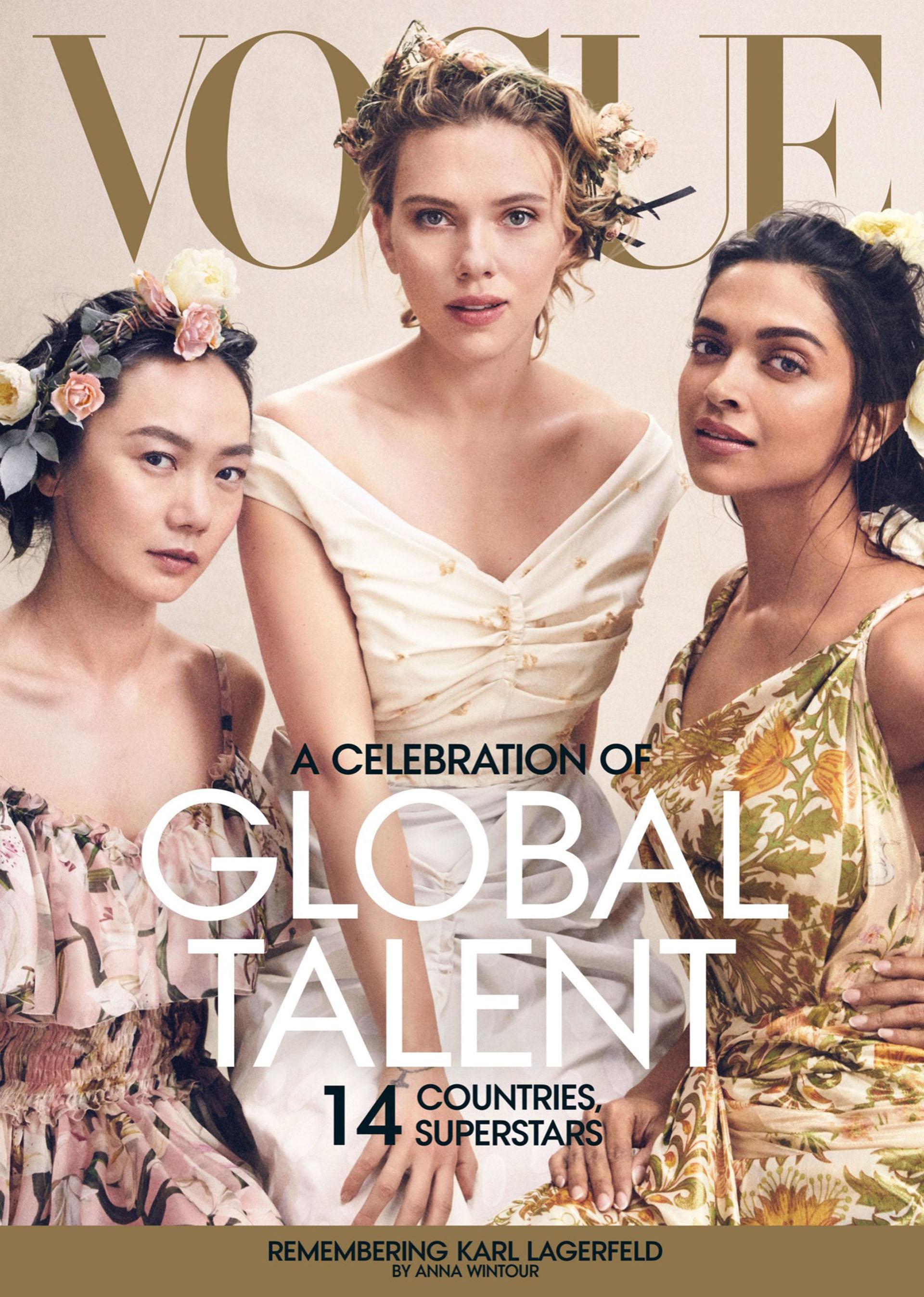 Diversidad en la tapa de abril de Vogue.