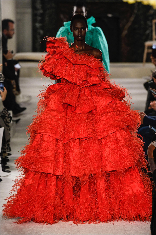 La pasarela de Valentino en el Fashion Week de París.