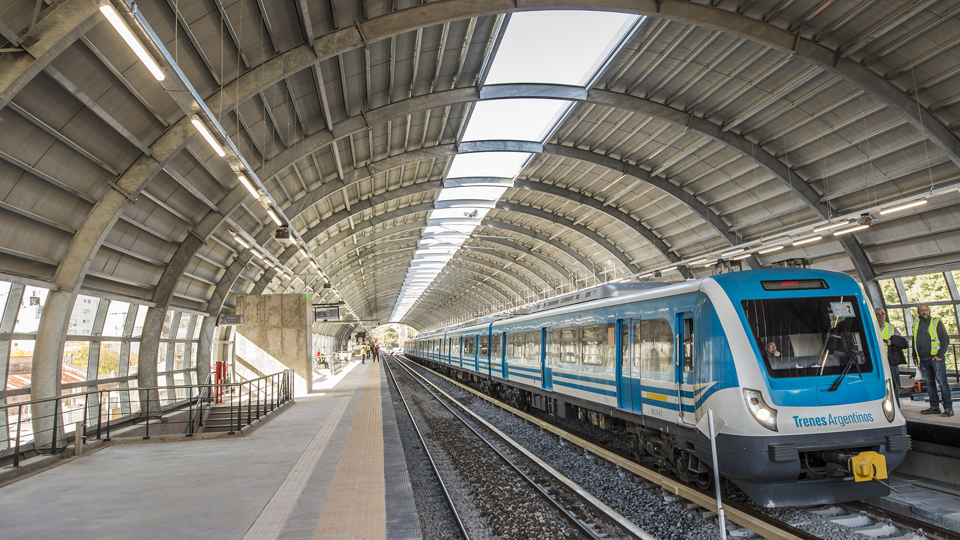El viaducto del Ferrocarril Mitre beneficiará diariamente a más de 200.000 personas entre usuarios del servicio y vecinos