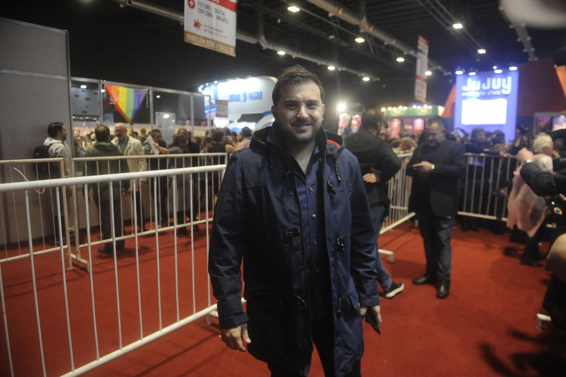 El periodista Diego Brancatelli