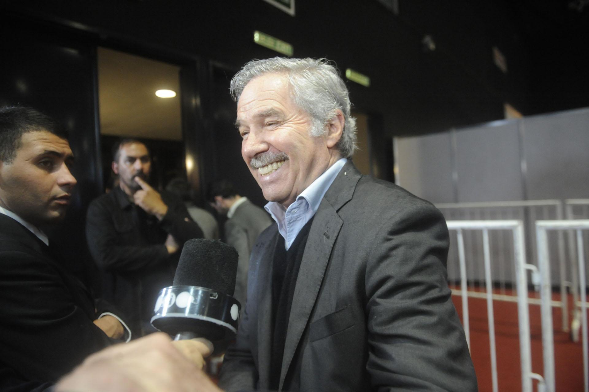 El precandidato presidencial y diputado Felipe Solá