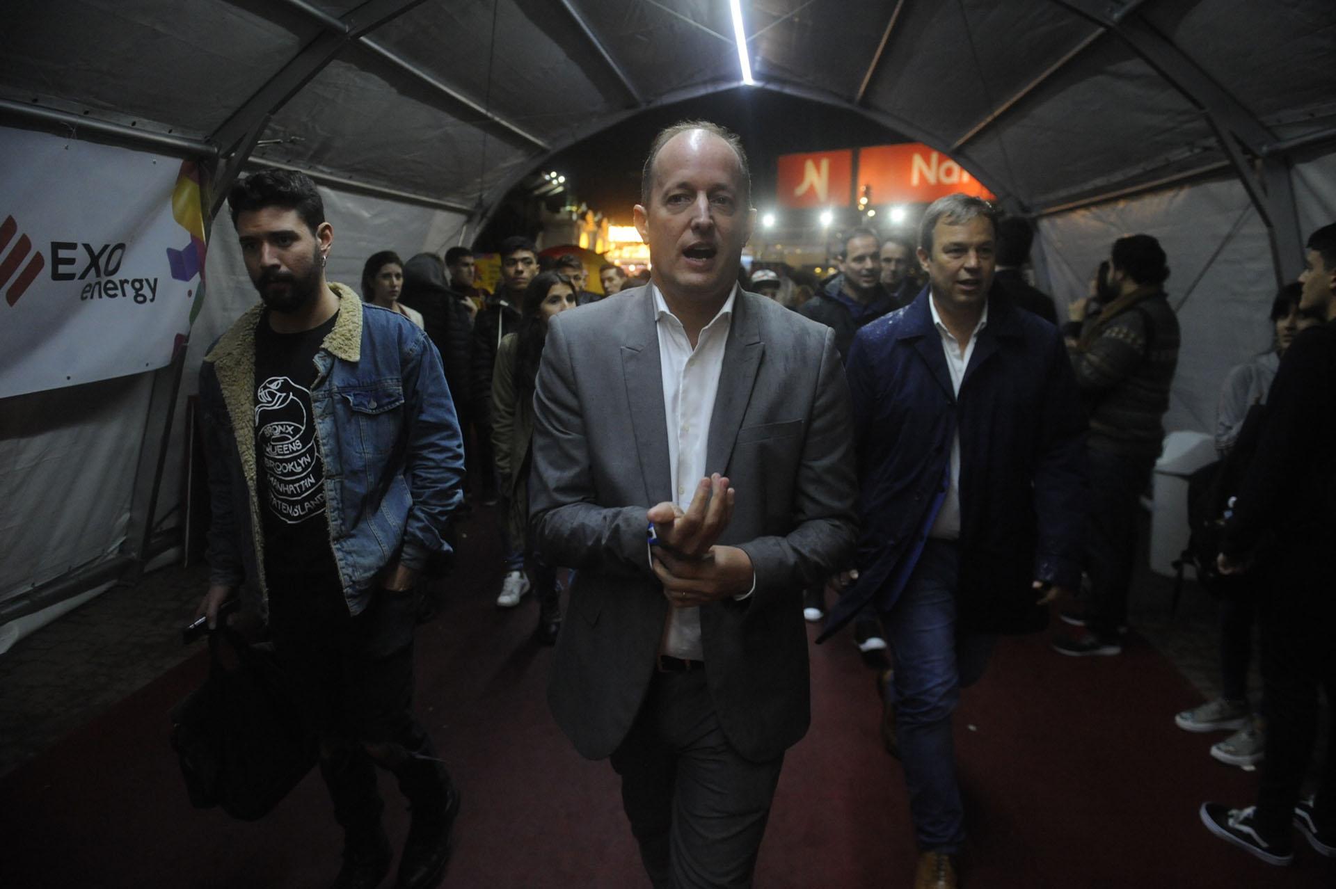 El intendente de Lomas de Zamora Martín Insaurralde