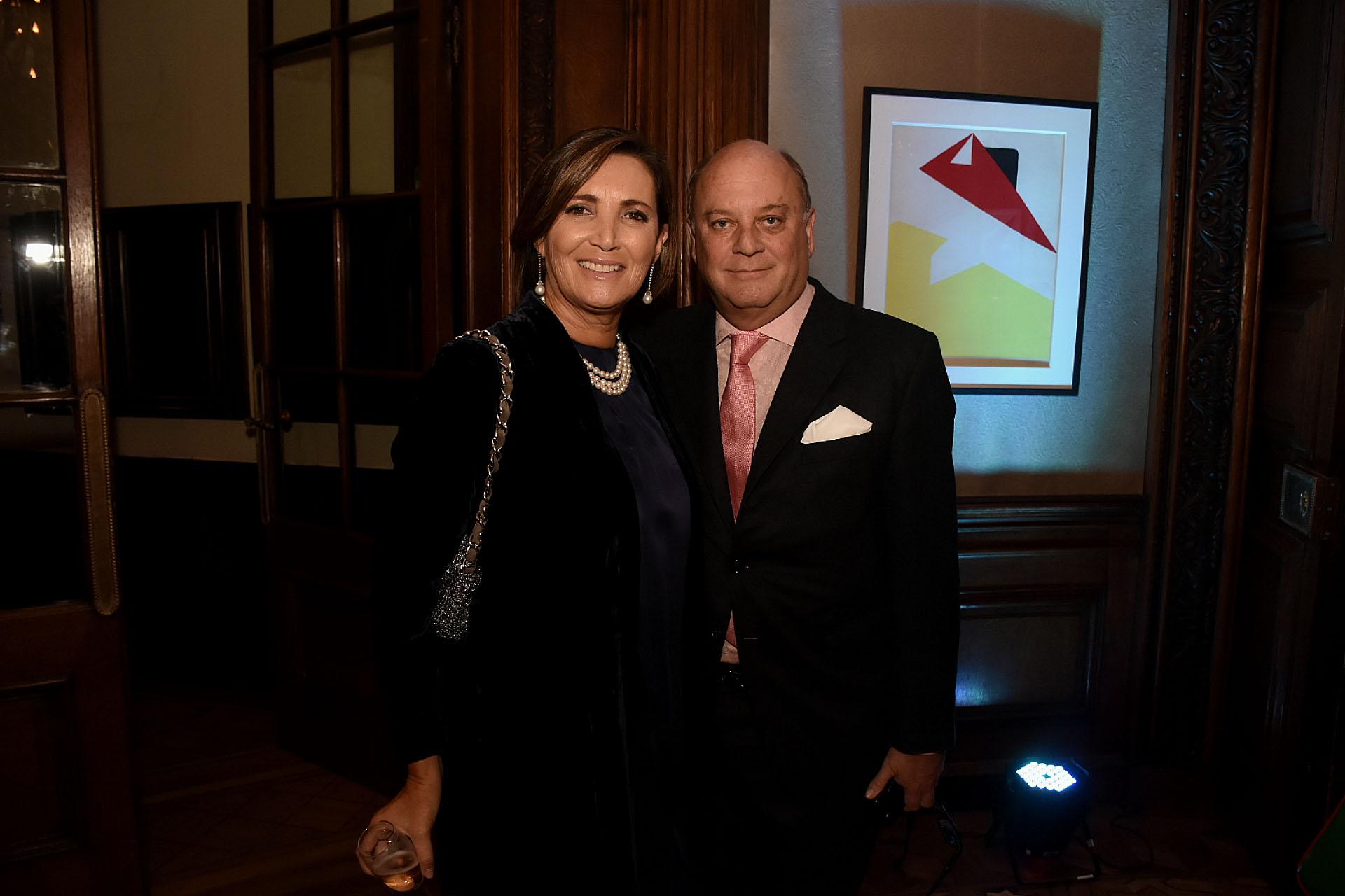 El empresario Martín Cabrales y su pareja Dora Sánchez