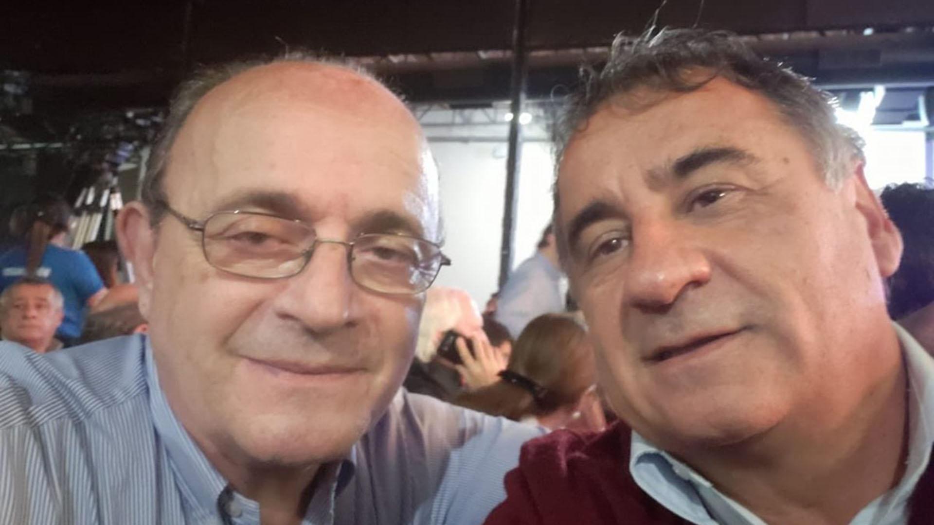 El diputado nacional Leopoldo Moreau junto a Depetri (@EdgardoDepetri)