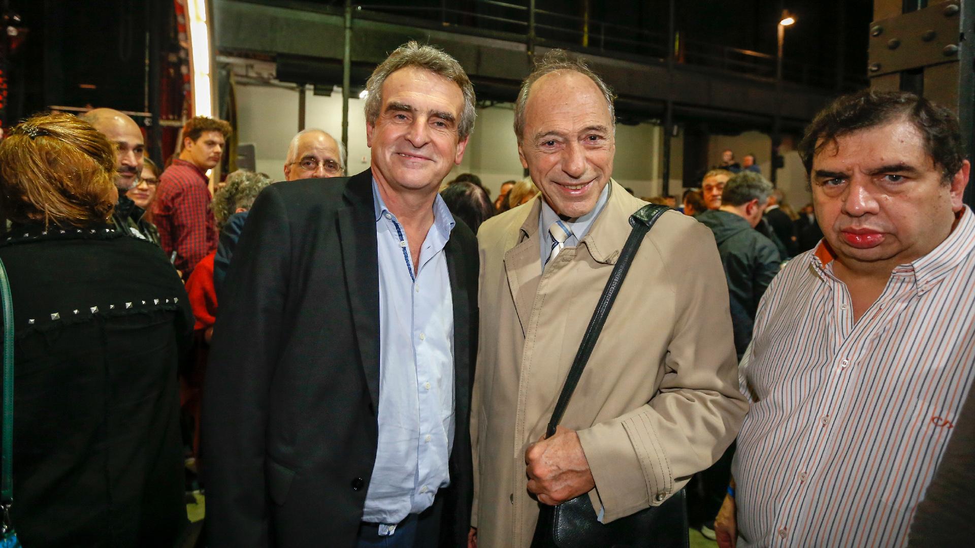 Agustín Rossi y Eugenio Zaffaroni
