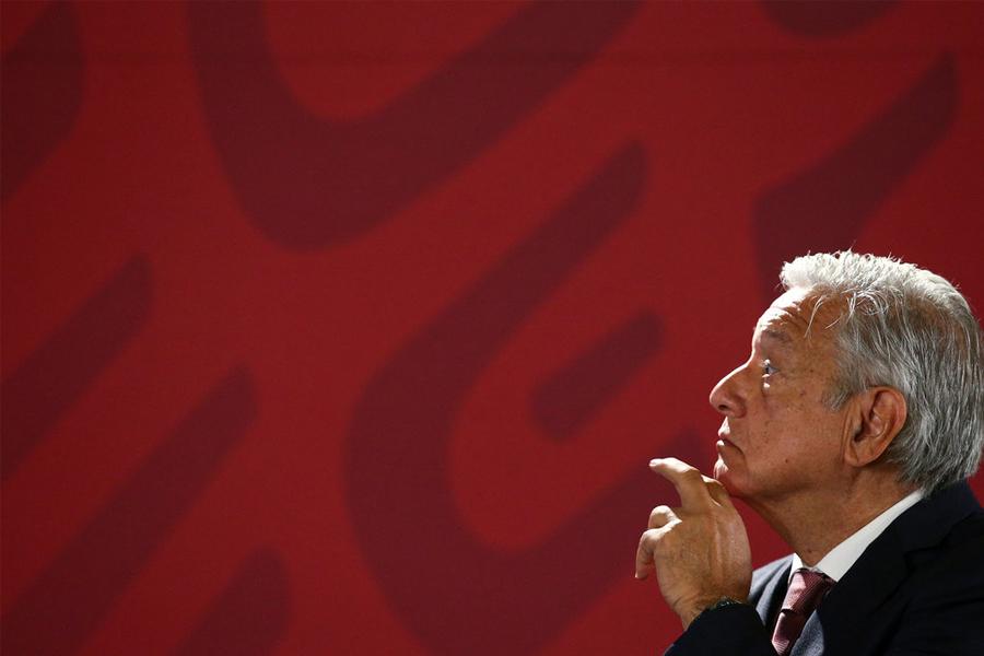 Después de su abrumadora victoria del año pasado, el presidente mexicano Andrés Manuel López Obrador prometió un cambio. (Foto: Edgard Garrido/Reuters)