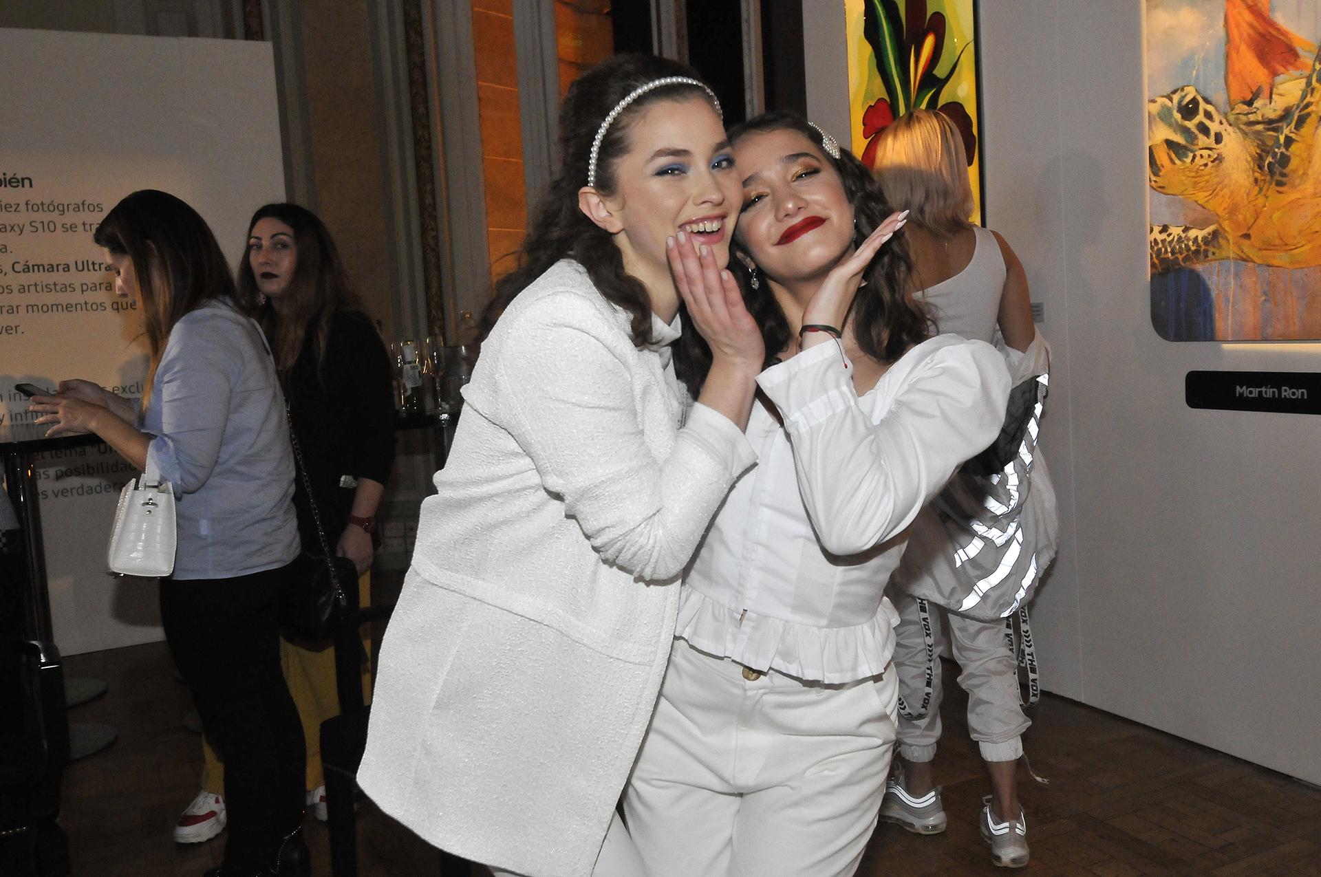 Minerva Casero y Angela Torres