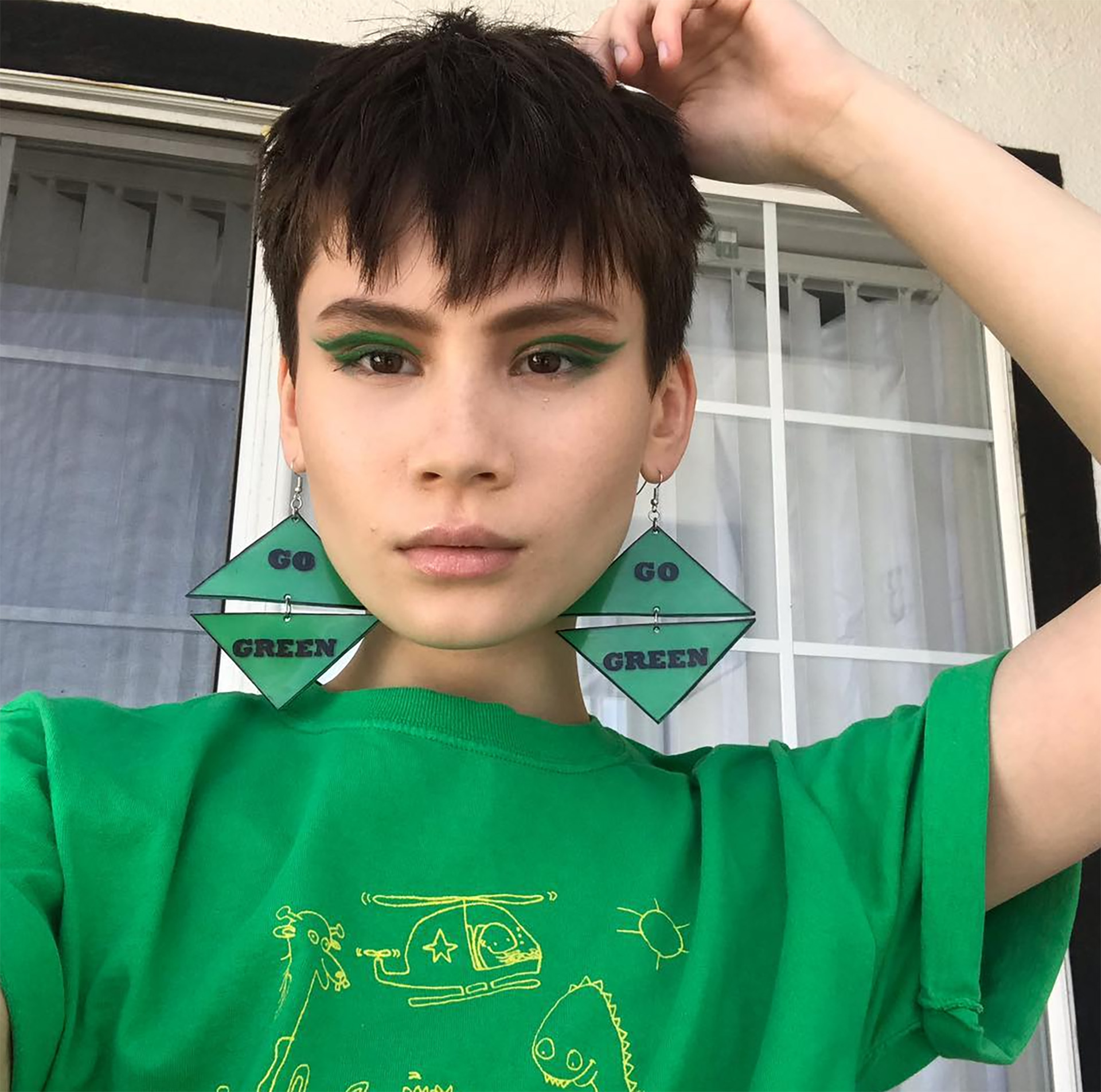 Ian Alexander tiene 19 años y se convirtió en un representante de la comunidad LGBT (Instagram)