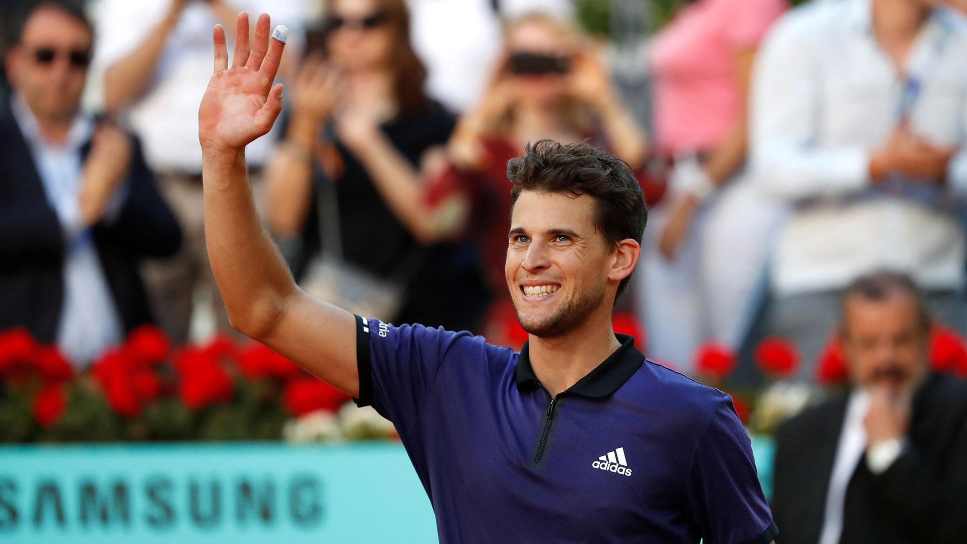 El austriaco va por su tercer título de la temporada (Reuters)