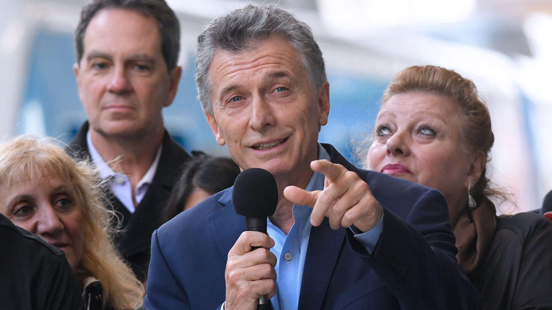 Mauricio Macri (Télam)