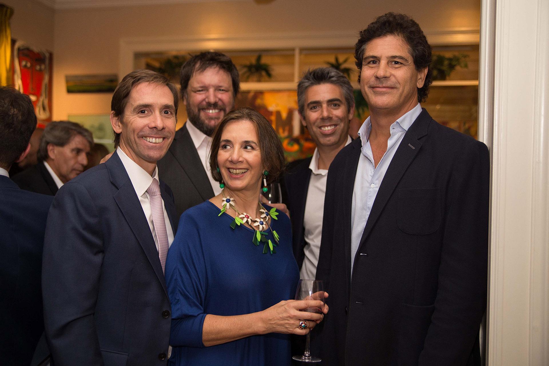 Matías Eliaschev, CEO de Lazard, y Mariano Lombardi, gerente general de Nestlé Waters