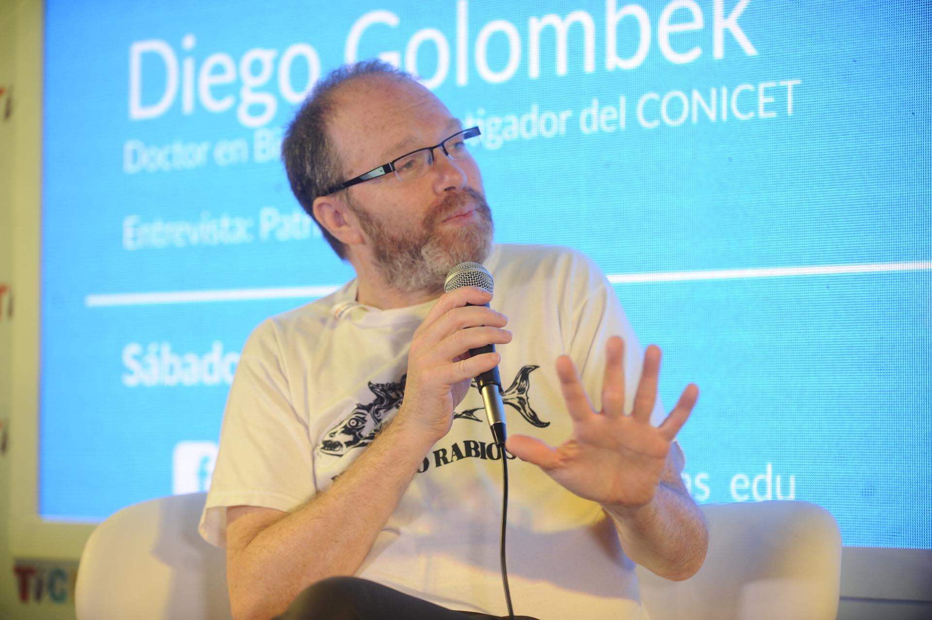 Diego Golombek (Foto: Dino Calvo)