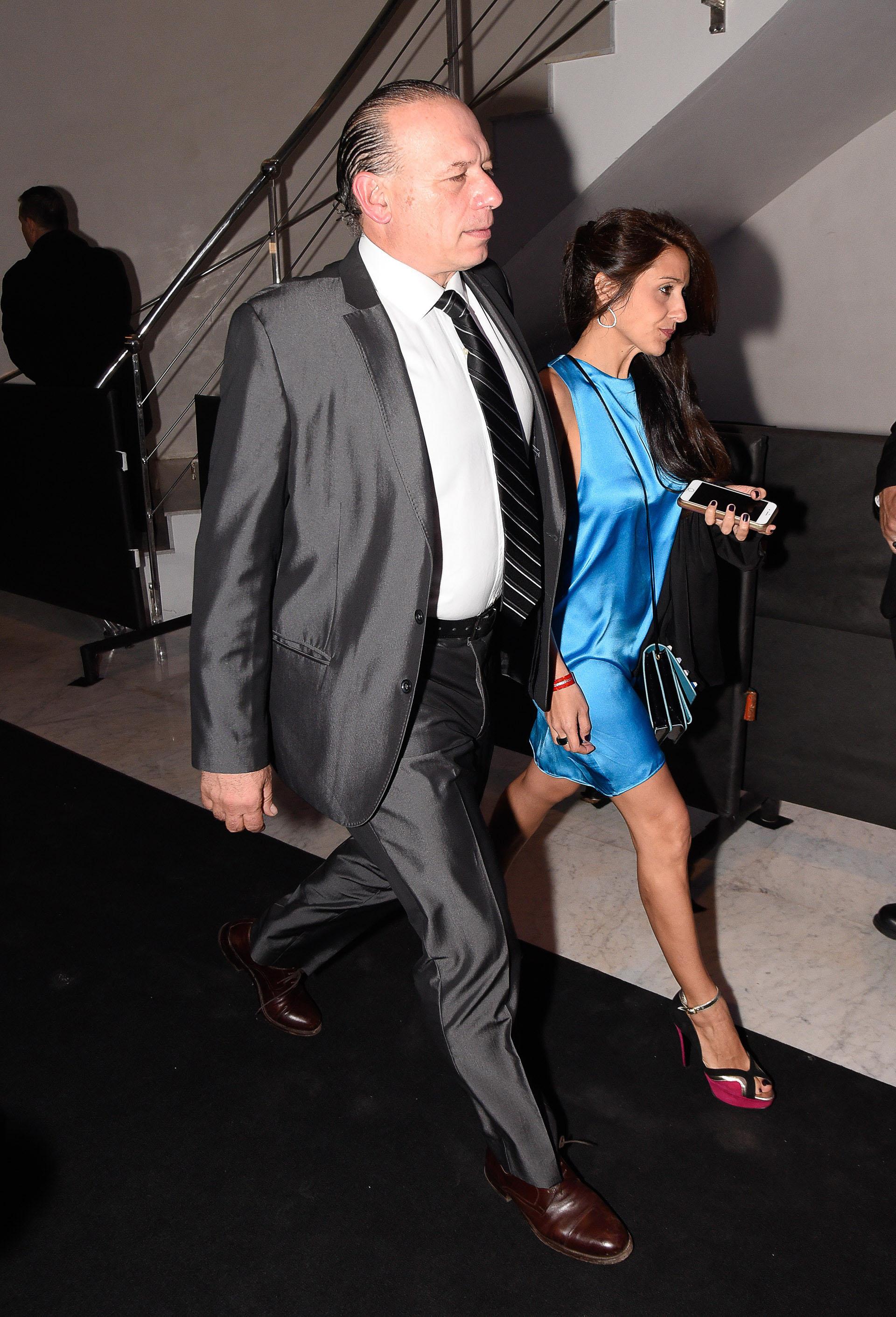 Sergio Berni y su esposa Agustina Propato
