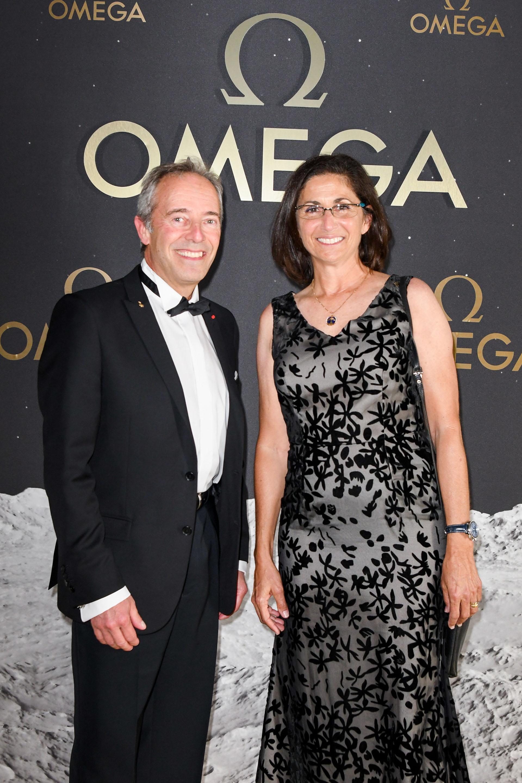 Jean-Francois Clervoy y Nicole Stott