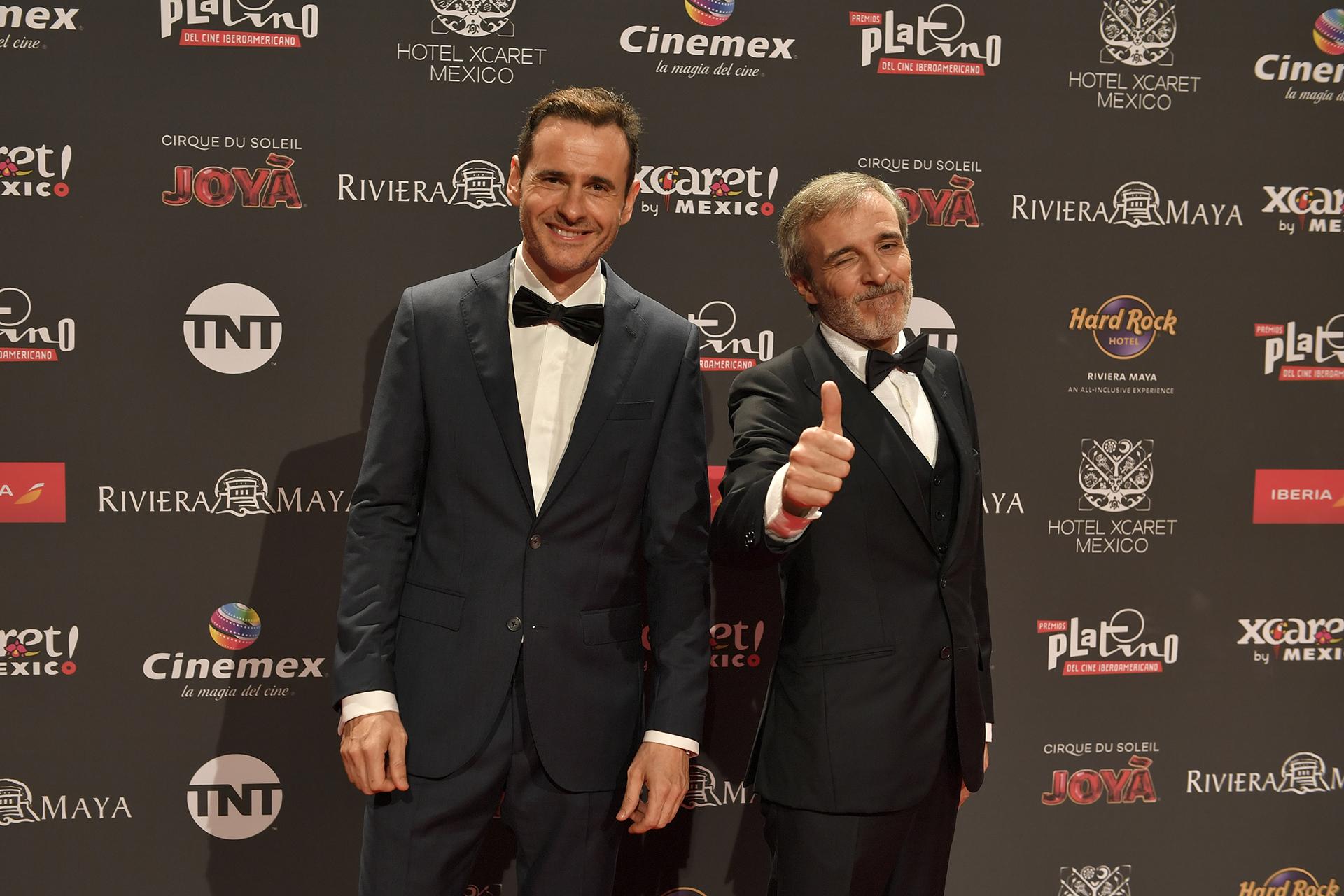 Luis Miguel Segui y Fernando Guillen Cuervo