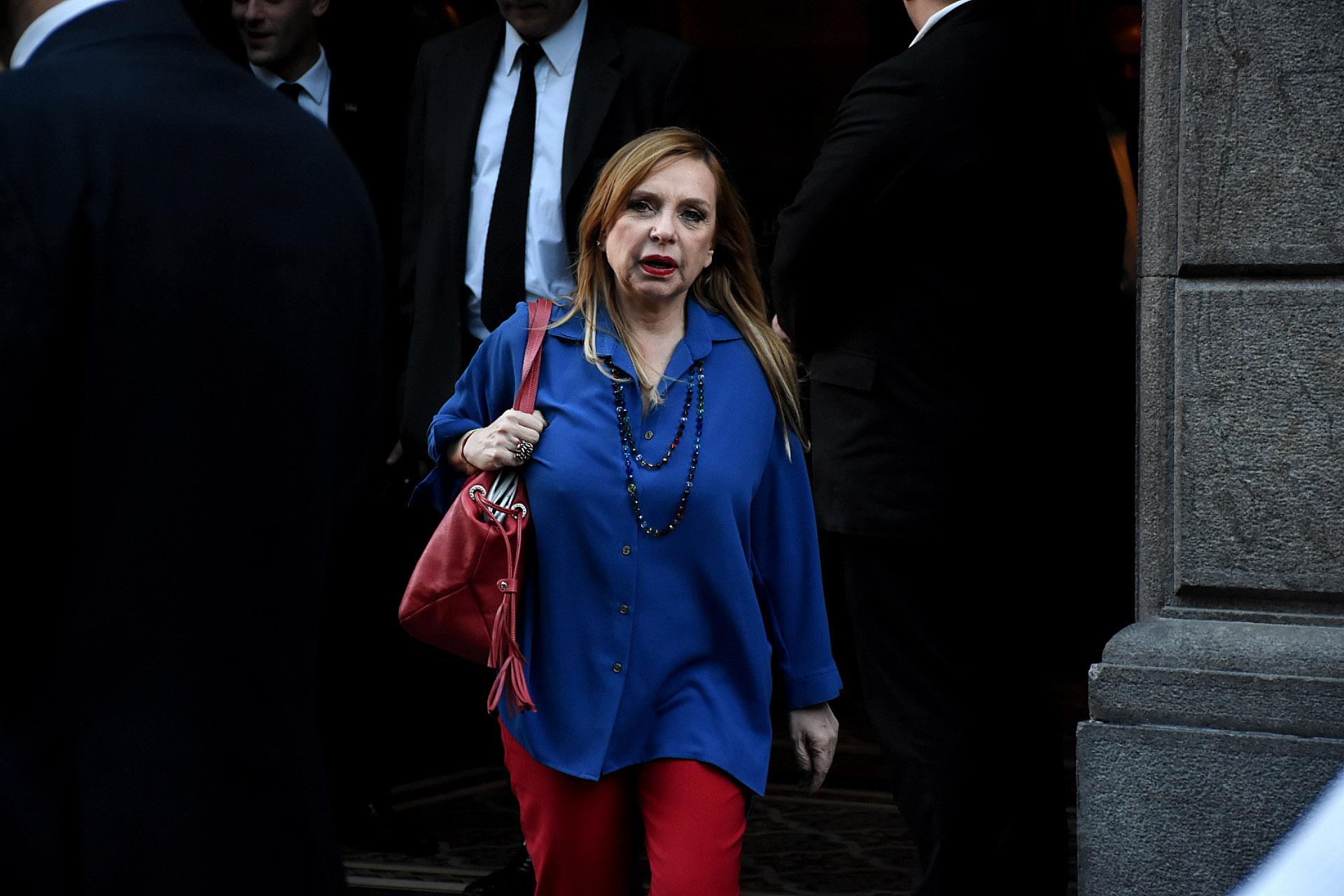 La legisladora María José Lubertino