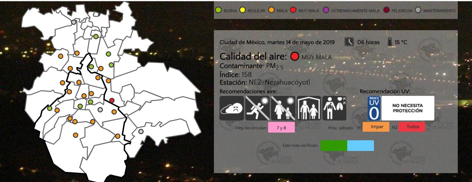 Ante la mala calidad del aire que padece la Ciudad de México las ONGs pidieron a la jefa de gobierno que cumpla con la construcción de una política pública integral (Foto: CAMe)